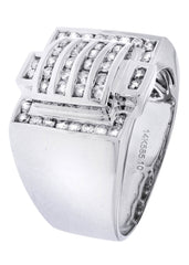 Mens Diamond Ring| 0.75 Carats| 12.73 Grams