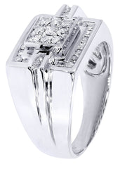 Mens Diamond Ring| 0.64 Carats| 11.01 Grams