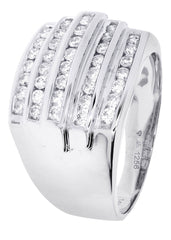 Mens Diamond Ring| 0.82 Carats| 10.91 Grams MEN'S RINGS FROST NYC