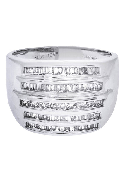 Mens Diamond Ring| 0.2 Carats| 10.59 Grams