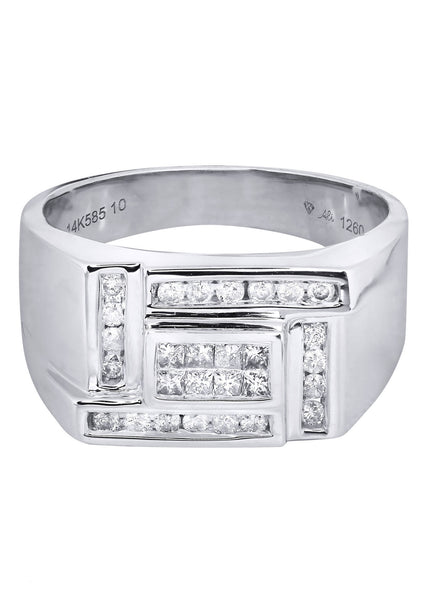 Mens Diamond Ring| 0.23 Carats| 9.43 Grams