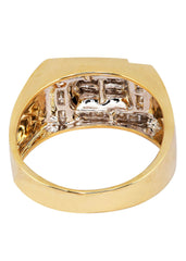 Mens Diamond Pinky Ring| 0.33 Carats| 8.97 Grams