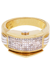 Mens Diamond Pinky Ring| 1.25 Carats| 10.22 Grams MEN'S RINGS FROST NYC