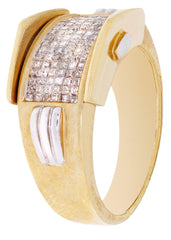 Mens Diamond Pinky Ring| 1.25 Carats| 10.22 Grams