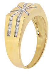 Mens Diamond Pinky Ring| 0.44 Carats| 6.39 Grams