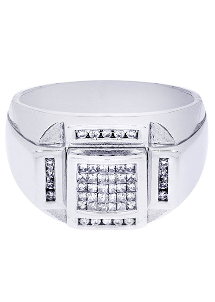 Mens Diamond Ring| 0.16 Carats| 16.14 Grams