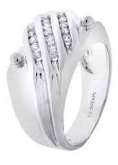 Mens Diamond Ring| 0.41 Carats| 9.81 Grams