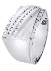 Mens Diamond Ring| 0.4 Carats| 10.94 Grams