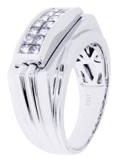 Mens Diamond Ring| 0.74 Carats| 11.07 Grams