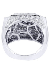 Mens Diamond Ring| 3.75 Carats| 14.41 Grams