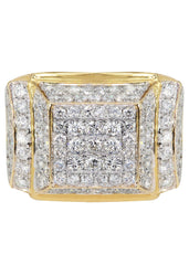 Mens Diamond Pinky Ring| 4.09 Carats| 12.42 Grams MEN'S RINGS FROST NYC