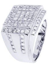 Mens Diamond Ring| 2.28 Carats| 14 Grams MEN'S RINGS FROST NYC