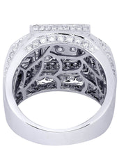 Mens Diamond Ring| 3.58 Carats| 14.21 Grams