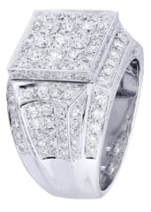 Mens Diamond Ring| 3.58 Carats| 14.21 Grams MEN'S RINGS FROST NYC