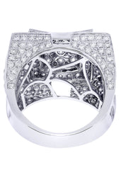 Mens Diamond Ring| 5.28 Carats| 18.15 Grams MEN'S RINGS FROST NYC