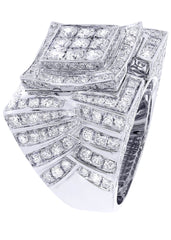 Mens Diamond Ring| 5.28 Carats| 18.15 Grams