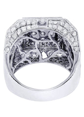 Mens Diamond Ring| 4.55 Carats| 14.81 Grams