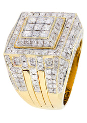 Mens Diamond Pinky Ring| 3.24 Carats| 16.65 Grams