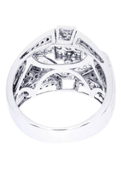 Mens Diamond Ring| 1.85 Carats| 14.13 Grams