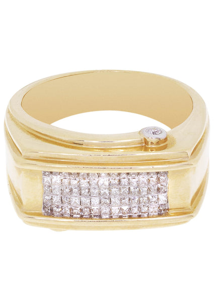 Mens Diamond Pinky Ring| 0.63 Carats| 10.79 Grams