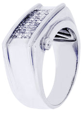 Mens Diamond Ring| 0.63 Carats| 10.71 Grams