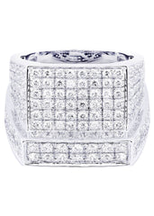 Mens Diamond Ring| 2.28 Carats| 14.32 Grams