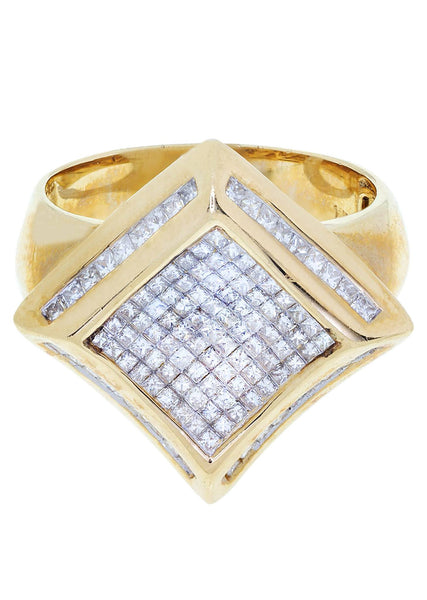 Mens Diamond Pinky Ring| 1.45 Carats| 9.75 Grams