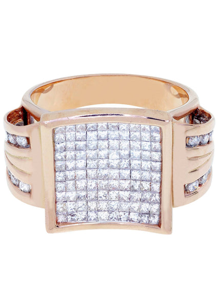 Mens Diamond Ring| 0.43 Carats| 10.2 Grams