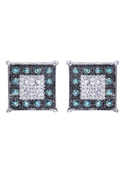 Diamond Earrings | 0.61 Carats 14K White Gold