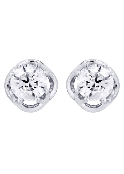 Round Diamond Stud Earrings | 1.35 Carats