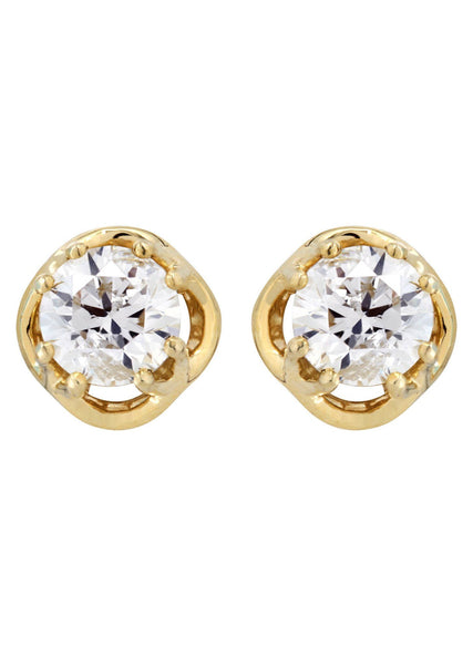 Round Diamond Stud Earrings | 1.75 Carats