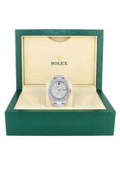 Rolex Datejust II Watch | 41 MM | Diamond Dial | Two Row | Oyster Band