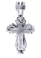 Diamond Cross Pendant| 2.66 Carats| 24.59 Grams MEN'S PENDANTS FROST NYC