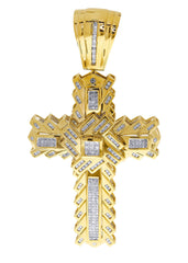 Diamond Cross Pendant| 2.51 Carats| 34.83 Grams MEN'S PENDANTS FROST NYC