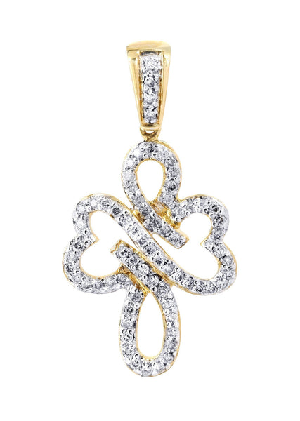 Diamond Cross Pendant | 0.46 Carats | 2.11 Grams