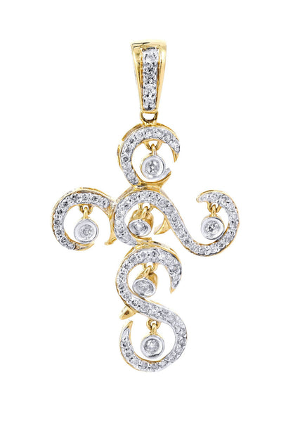 Diamond Cross Pendant | 0.51 Carats | 3.42 Grams