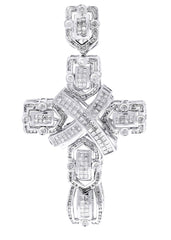 Diamond Cross Pendant| 4.33 Carats| 26.89 Grams