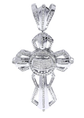 Diamond Cross Pendant| 3.55 Carats| 31.62 Grams