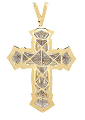 Diamond Cross Pendant | 1.03 Carats| 28.1 Grams