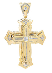 Diamond Cross Pendant | 1.03 Carats| 28.1 Grams MEN'S PENDANTS FROST NYC