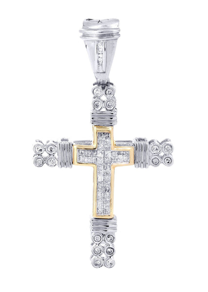 Diamond Cross Pendant | 0.68 Carats | 7.11 Grams