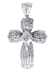 Diamond Cross Pendant| 1.85 Carats| 14.51 Grams