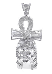 Diamond Cross Pendant| 5.27 Carats| 48.65 Grams