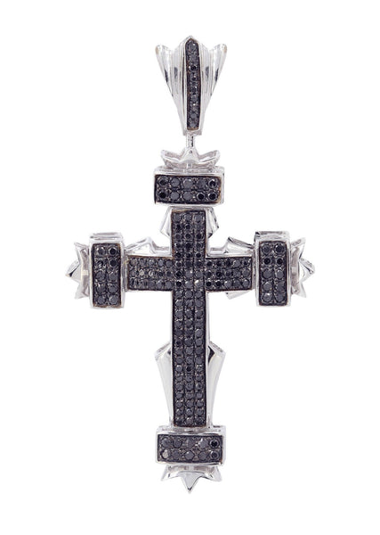 Diamond Cross Pendant | 1.01 Carats | 7.58 Grams