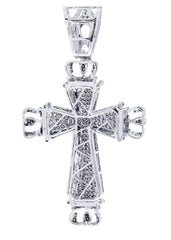 Diamond Cross Pendant| 2.01 Carats| 17.84 Grams