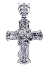 Diamond Cross Pendant| 2.17 Carats| 18.01 Grams