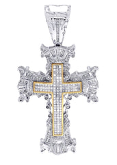 Diamond Cross Pendant| 4.1 Carats| 32.77 Grams MEN'S PENDANTS FROST NYC