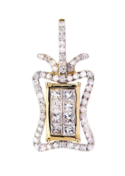 Diamond Butterfly Pendant | 0.76 Carats | 1.72 Grams