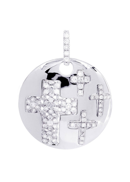 Diamond Cross Pendant | 0.81 Carats | 4.96 Grams
