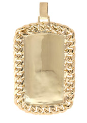 Diamond Dog Tag Pendant | 1.68 Carats| 26.54 Grams MEN'S PENDANTS FROST NYC